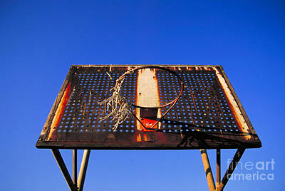 Basketball Net Art Print by John Greim