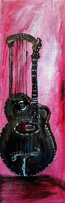 Bass  2 Art Print by Amanda Dinan