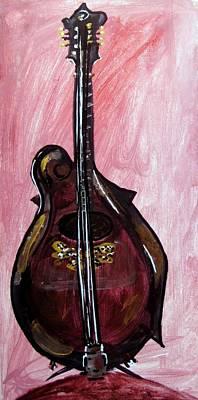 Painting - Bass by Amanda Dinan