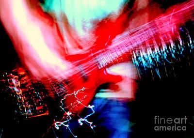 Bass Guitar 1 Art Print by Jason D Rogers