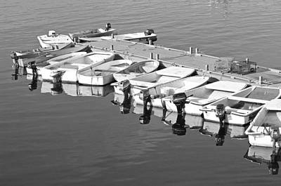 Lobstermen Photograph - Bass Harbor by David Rucker