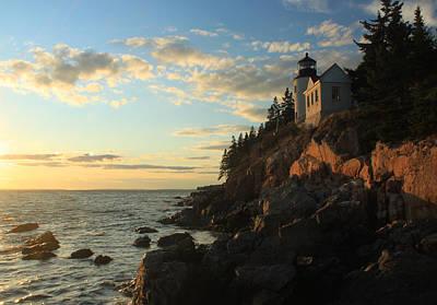Fruits And Vegetables Still Life - Bass Harbor Lighthouse Acadia National Park by John Burk