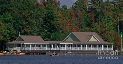 Photograph - Bass Lake Lodge by Scott Hervieux