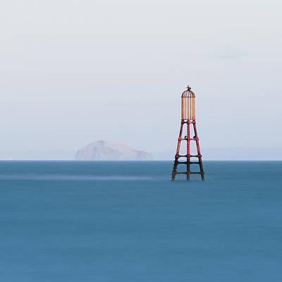 Fife Photograph - Bass Rock From Fife by Paul McGee