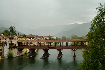 Photograph - Bassano Del Grappa - 4 by Ely Arsha