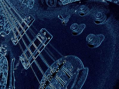Photograph - Bassic Blueprint by Chris Berry