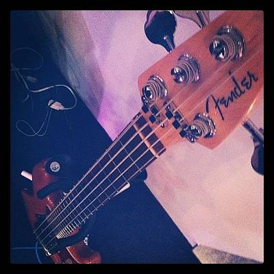 Instrument Wall Art - Photograph - Bassist by Caleb Baker