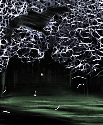 Bat Cave 2 Art Print by Steve Ohlsen