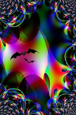 Bat Cave Art Print by Maria Urso