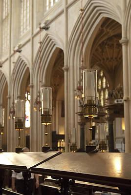 Photograph - Bath Abbey England  004 by Lisa Missenda