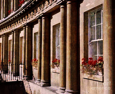 Photograph - Bath Royal Crescent by Deborah Smith
