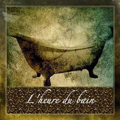 Bath Time No.1 Print by Bonnie Bruno