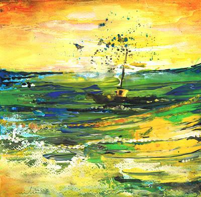 Bathed In Golden Light Original by Miki De Goodaboom