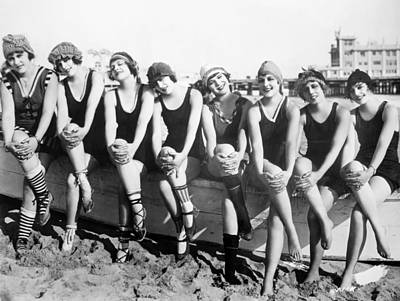 Photograph - Bathing Beauties, 1916 by Granger