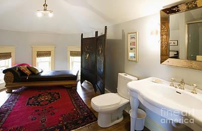 Bathroom With Sitting Area Art Print