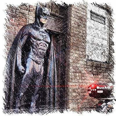 Comics Wall Art - Photograph - Batman In Philly? by Fred Lambert