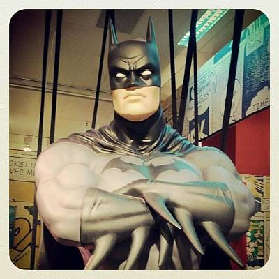 Comics Wall Art - Photograph - Batman by Oscar Rodriguez