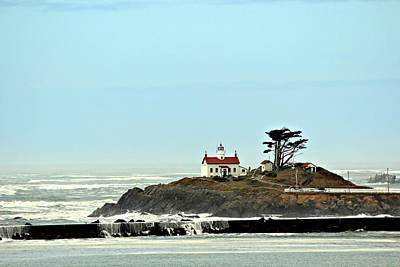 Art Print featuring the photograph Battery Point Lighthouse II by Jo Sheehan