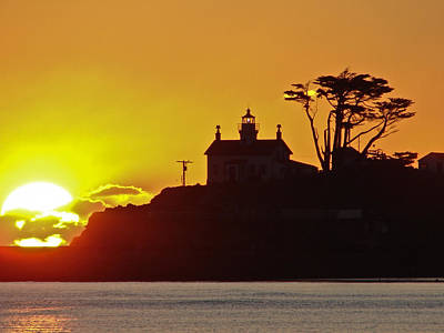 Jake Johnson Photograph - Battery Point Sunset by Jake Johnson