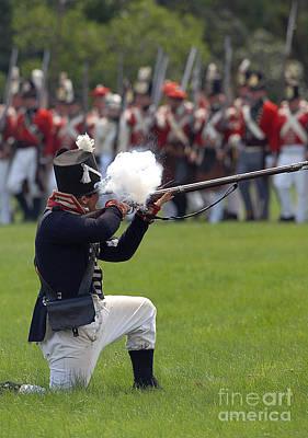 Photograph - Battle 17 by JT Lewis