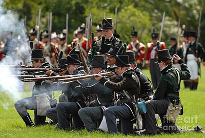 Photograph - Battle 22 by JT Lewis