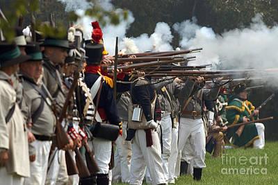 Photograph - Battle 25 by JT Lewis