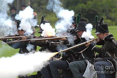 Photograph - Battle 27 by JT Lewis