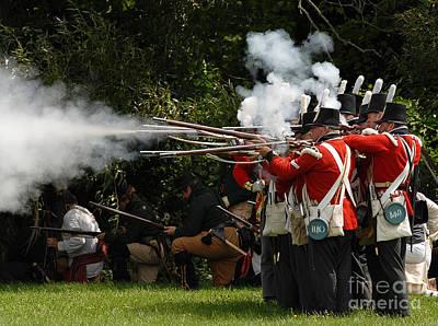 Photograph - Battle 36 by JT Lewis