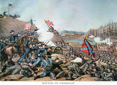 Franklin Tennessee Photograph - Battle Of Franklin, 1864 by Granger