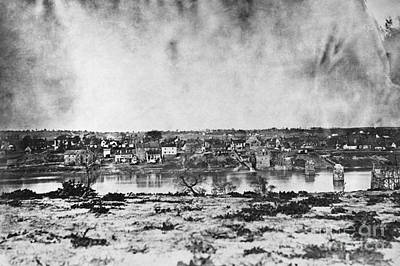 Battle Of Fredericksburg Art Print by Photo Researchers
