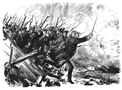 1757 Photograph - Battle Of Leuthen, 1757 by Granger