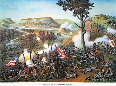 Battle Of Missionary Ridge Print by Granger