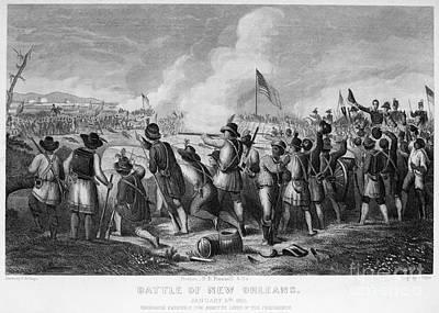 Battle Of New Orleans Art Print by Granger