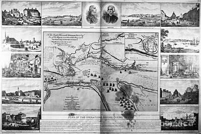 1759 Photograph - Battle Of Quebec, 1759 by Granger