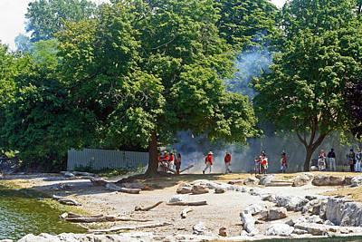 Photograph - Battle Of Queenston Heights 20 by Cyryn Fyrcyd