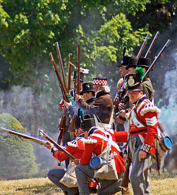 Photograph - Battle Of Queenston Heights 26 by Cyryn Fyrcyd