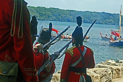 Photograph - Battle Of Queenston Heights 27 by Cyryn Fyrcyd