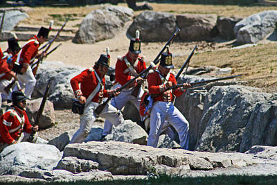 Photograph - Battle Of Queenston Heights 28 by Cyryn Fyrcyd
