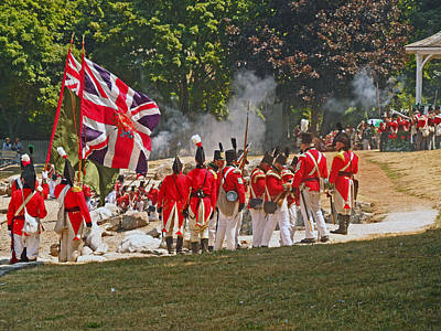 Photograph - Battle Of Queenston Heights 31 by Cyryn Fyrcyd