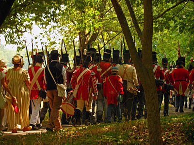 Photograph - Battle Of Queenston Heights 41 by Cyryn Fyrcyd