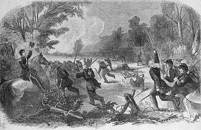 Hennessy Photograph - Battle Of Rich Mountain by Granger