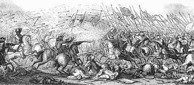 Battle Of Warsaw, 1656 Art Print by Granger