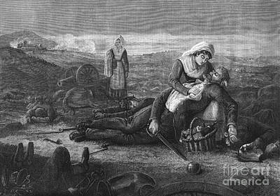 Battlefield Medicine, 19th Century Art Print by Science Source