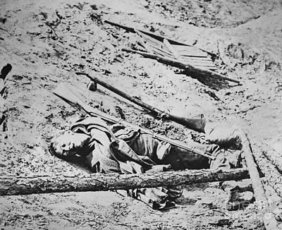 Photograph - Battlefield Of Manassas by Photo Researchers