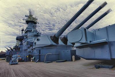 Battleship Art Print
