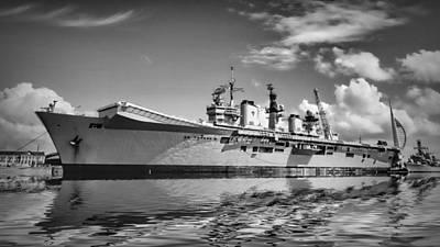 Battleships Art Print by Sharon Lisa Clarke
