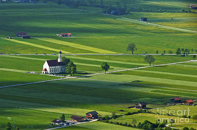 Landscape Photograph - Bavarian Countryside by Andrew  Michael