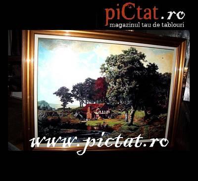 Byzantin Painting - Bavarian Landscape  Www.pictat.ro by Preda Bianca