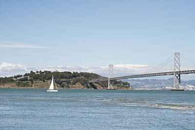 Photograph - Bay Bridge by Masha Batkova