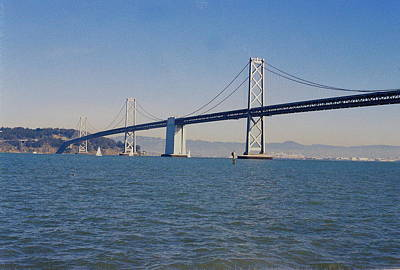 Photograph - Bay Bridge by Trent Mallett